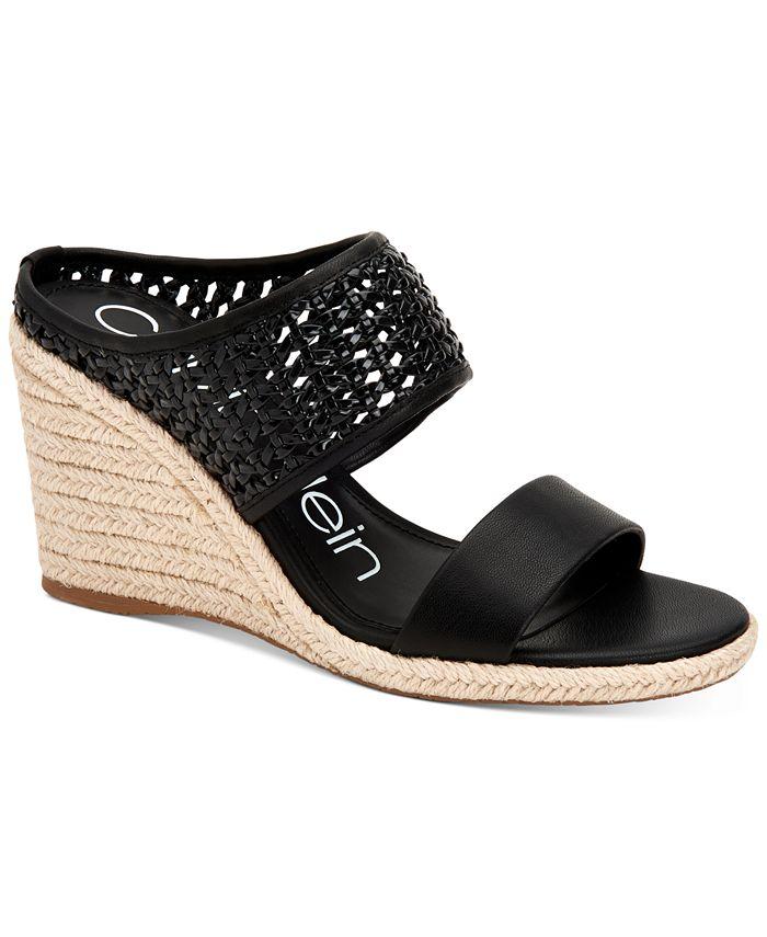 Calvin Klein - Brooke Espadrille Wedge Sandals