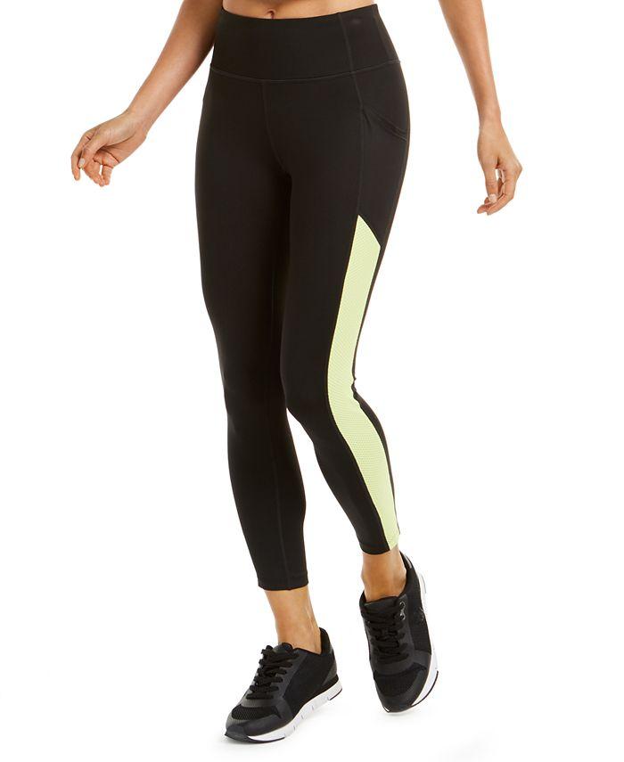 Calvin Klein - Textured-Panel Leggings