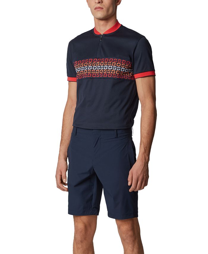 Hugo Boss - Men's Liem Navy Shorts