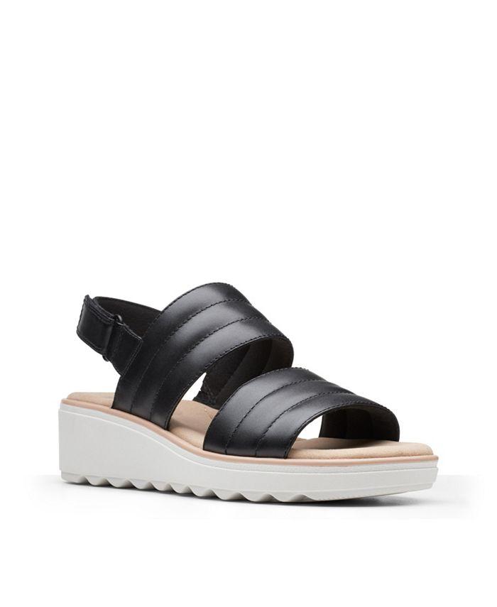 Clarks - Jillian Flow Wedge Sandals