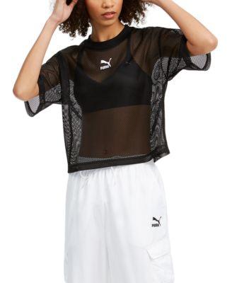 Puma Women's Classics Mesh T-Shirt