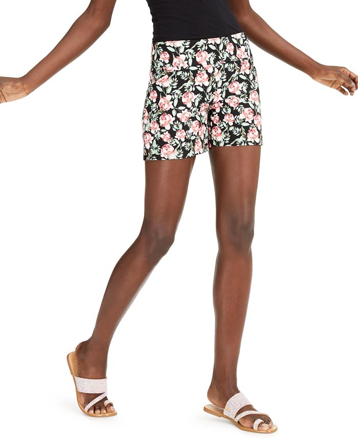 INC International Concepts - Floral Career Shorts