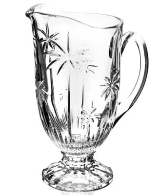Godinger Glassware, Palm Pitcher