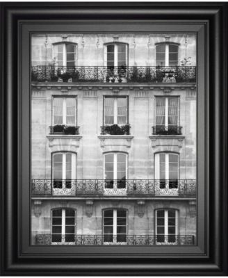 Across The Street Il by Laura Marshall Framed Print Wall Art - 22
