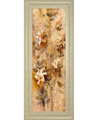 Candlelight Lilies I by Douglas Framed Print Wall Art, 18