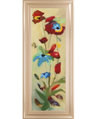 Wildflower Il by Jennifer Zybala Framed Print Wall Art - 18