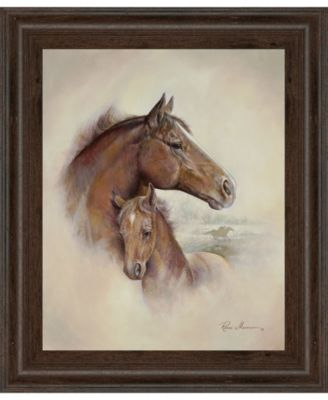 Race Horse II by Roane Manning Framed Print Wall Art, 22
