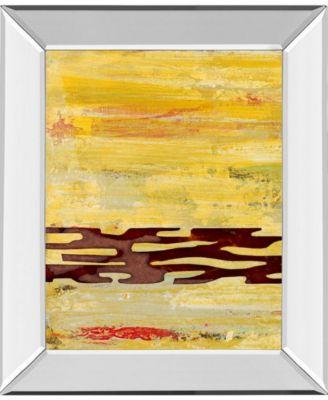 Tire Mark I by Natalie Avondet Mirror Framed Print Wall Art, 22