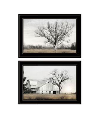 Ohio Fields I 2-Piece Vignette by Lori Deiter, White Frame, 21