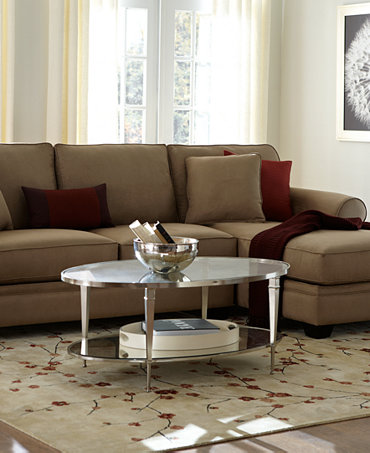Raja Fabric Sectional Living Room Furniture Collection