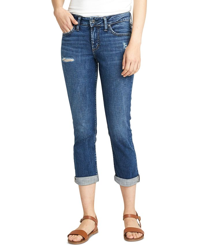 Silver Jeans Co. - Elyse Capri Jeans