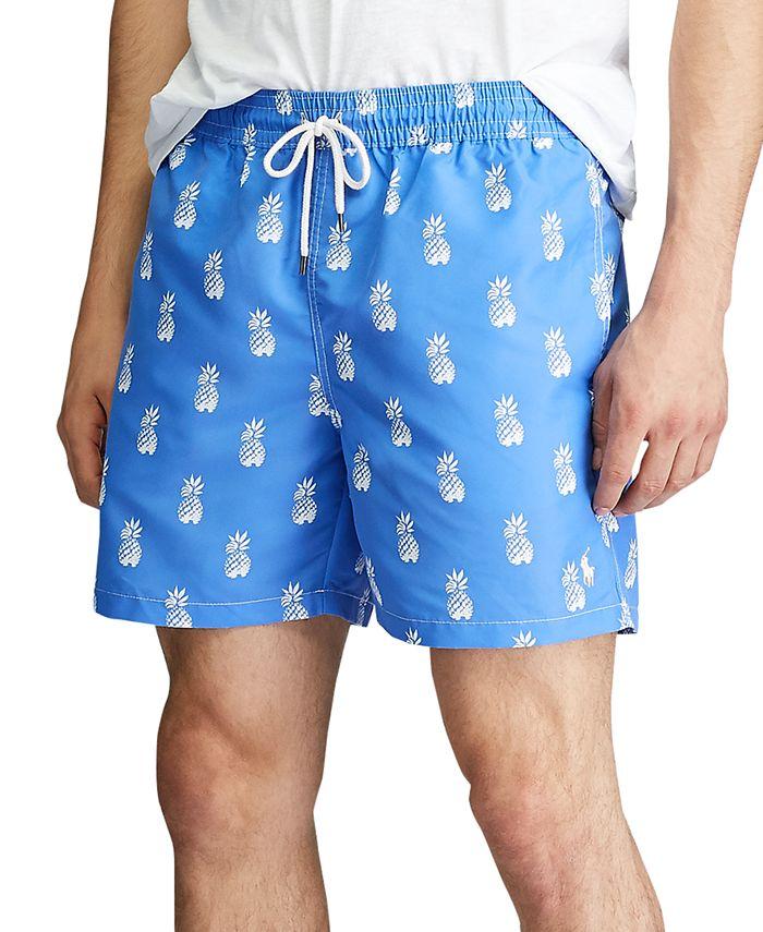 """Polo Ralph Lauren - Men's 5-¾"""" Inch Traveler Swim Trunks"""