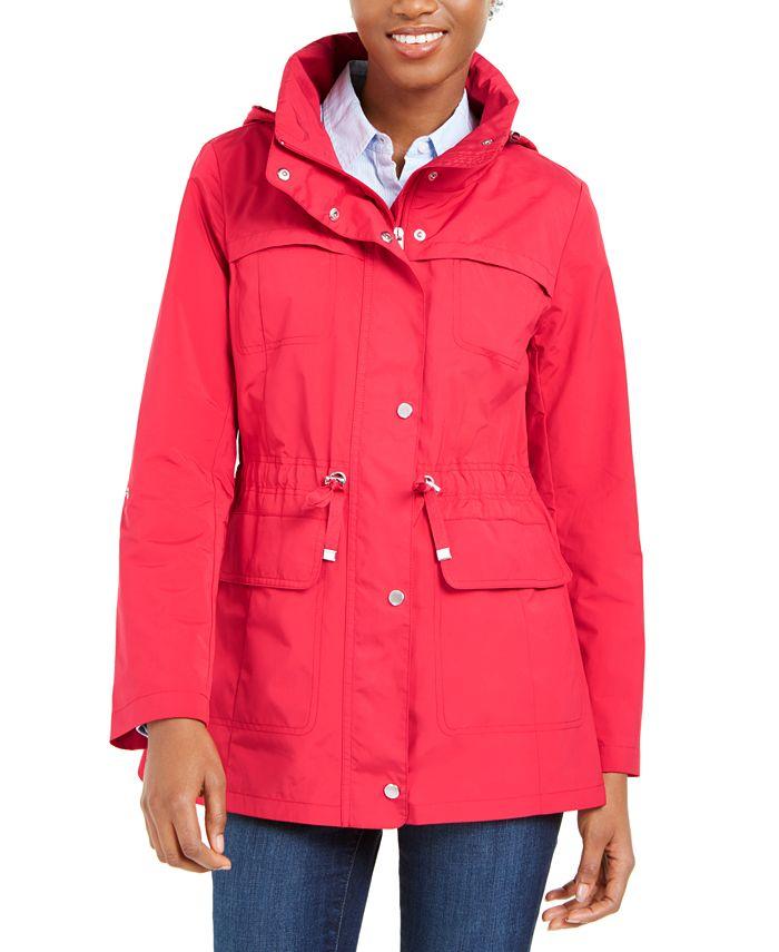 Cole Haan - Packable Hooded Anorak Coat
