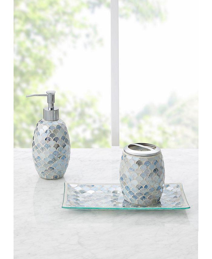 Jla Home Lily Mosaic 3pc Bath Accessory Set Reviews Bathroom Accessories Bed Macy S