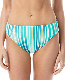 Vince Camuto Reversible High-Leg Bikini Bottoms