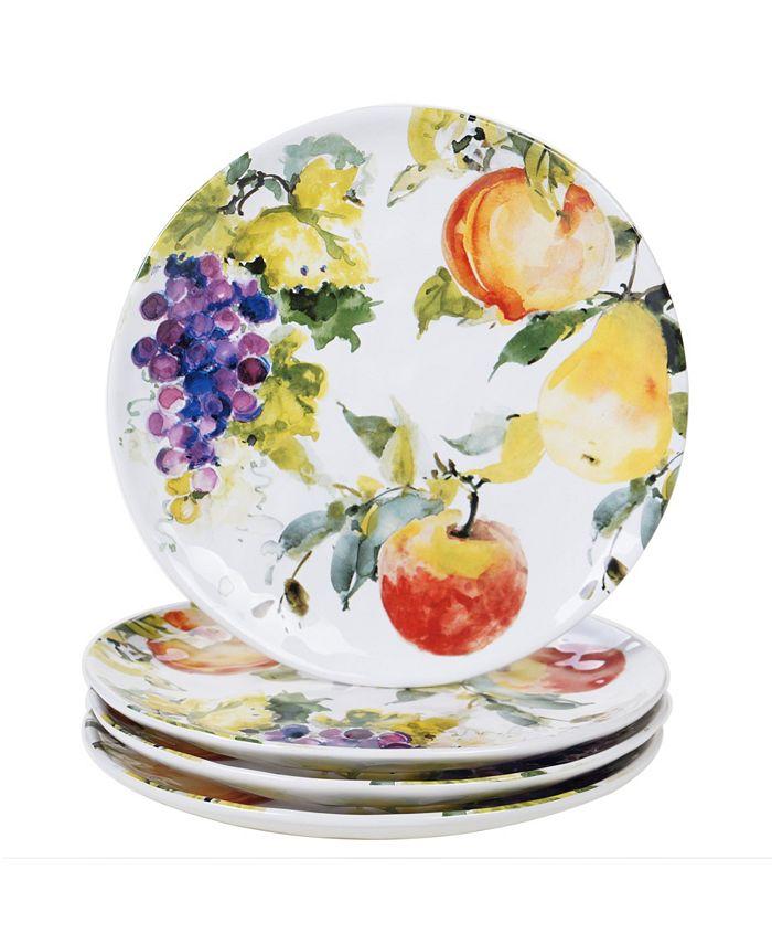Certified International - Ambrosia 4-Pc. Dinner Plates