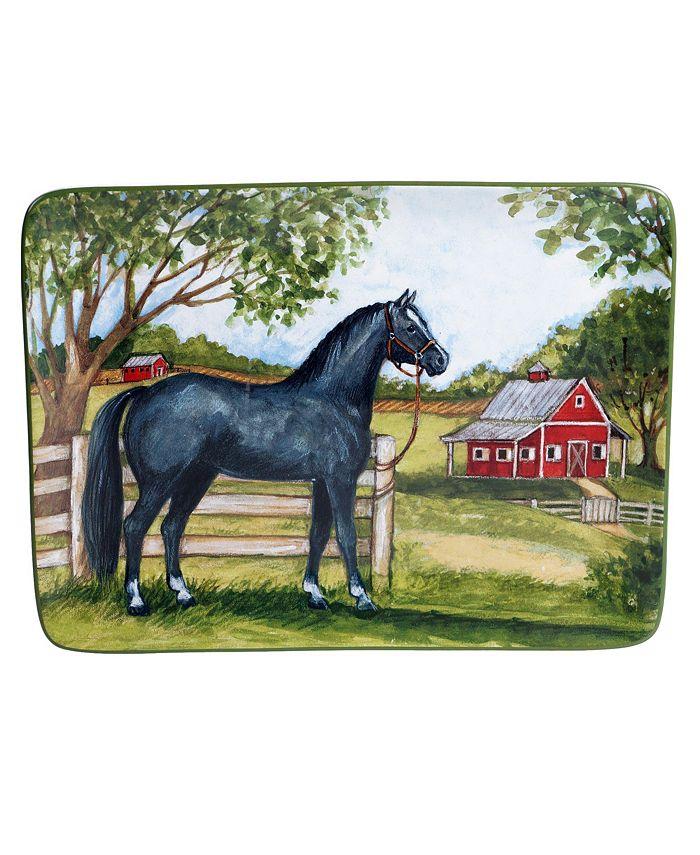Certified International - Clover Farm Rectangular Platter