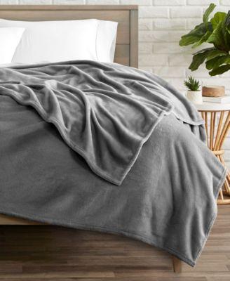 Microplush Fleece Blanket, Throw/Travel