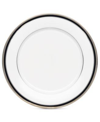 Noritake Dinnerware, Austin Platinum Dinner Plate