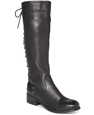 Two lips lace up tie back boots shoes macy s