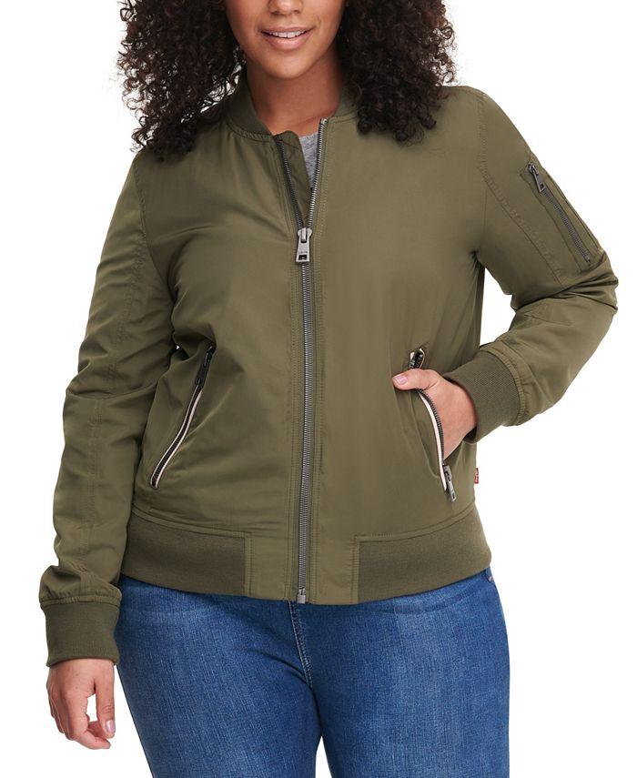 Levi's - Plus Size Melanie Bomber Jacket