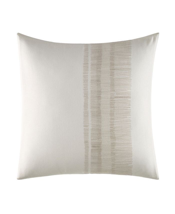 Vera Wang Closeout Pucker Grid Shaded Stitching Square Pillow Reviews Decorative Throw Pillows Bed Bath Macy S