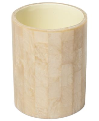 Roselli Trading Company Bath Accessories, Mother of Pearl Tumbler