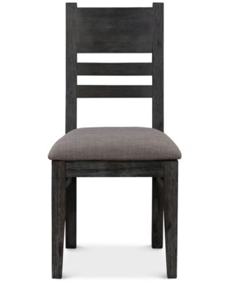 Avondale Graphite Side Chair, Created for Macy's