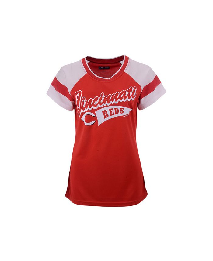 G-III Sports - Cincinnati Reds Women's Biggest Fan T-Shirt