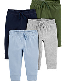 Carter's Baby Boys 4-Pk. Cotton Pull-On Pants