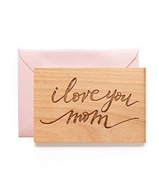 Hereafter I Love You Mom Card