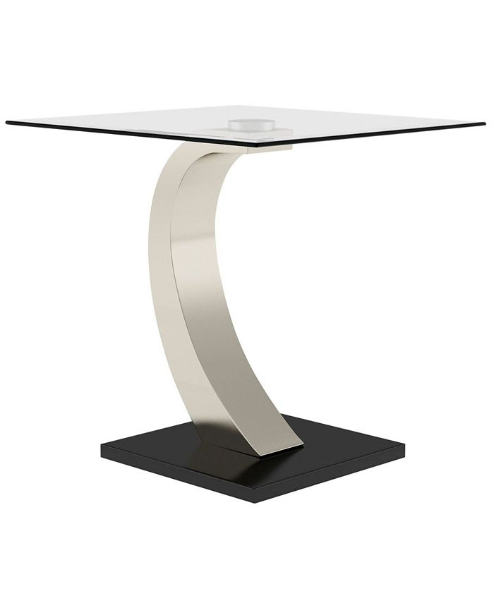 Furniture of America - Navarre End Table, Quick Ship