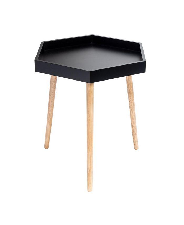 Honey Can Do - Hexagon End Table