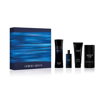 Giorgio Armani Men's 4-Piece Armani Code Eau de Toilette Set