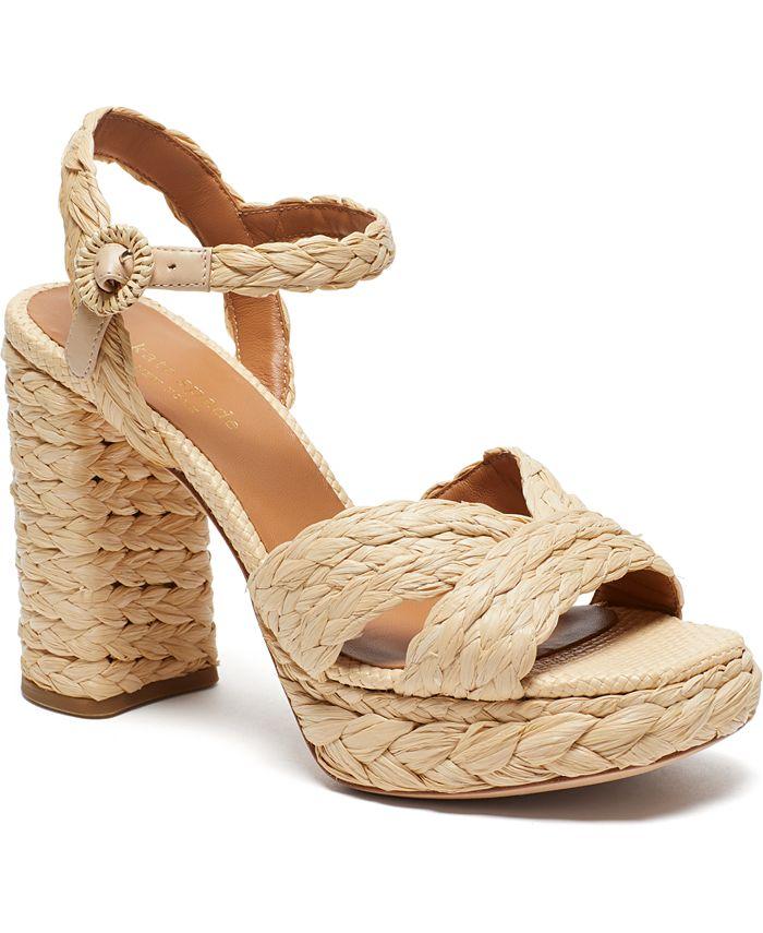 kate spade new york - Disco Raffia Dress Sandals