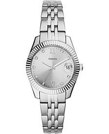 Fossil Women's Scarlette Mini Stainless Steel Bracelet Watch 32mm