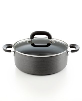 Image of Tools of the Trade  Hard Anodized Nonstick 5 Qt. Covered Chili Pot, Only at Macy's