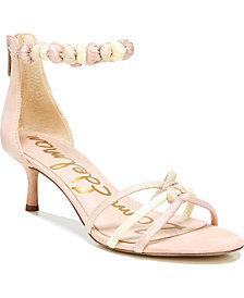Sam Edelman Jayde Kitten Heel Strappy Sandals