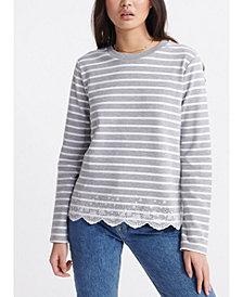 Superdry Summer Schiffli Long-Sleeve T-Shirt
