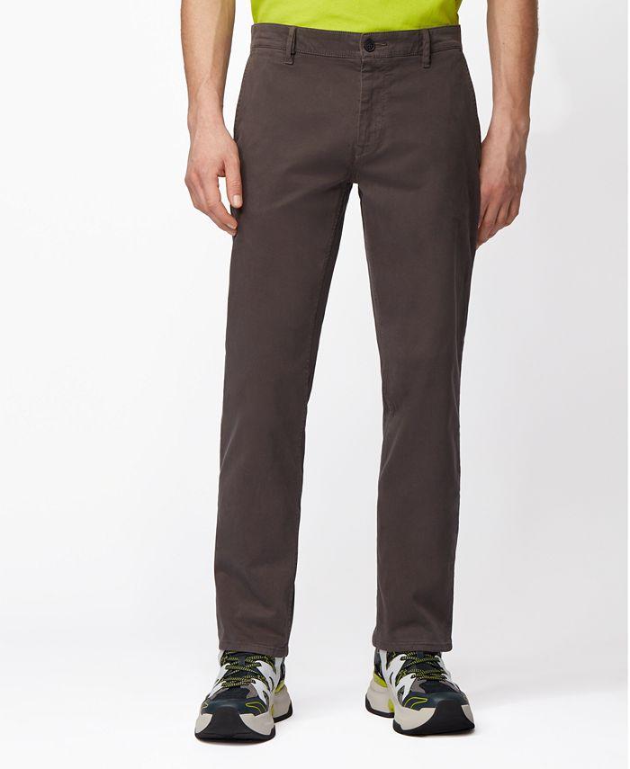 Hugo Boss - Men's Schino-Regular Charcoal Pants