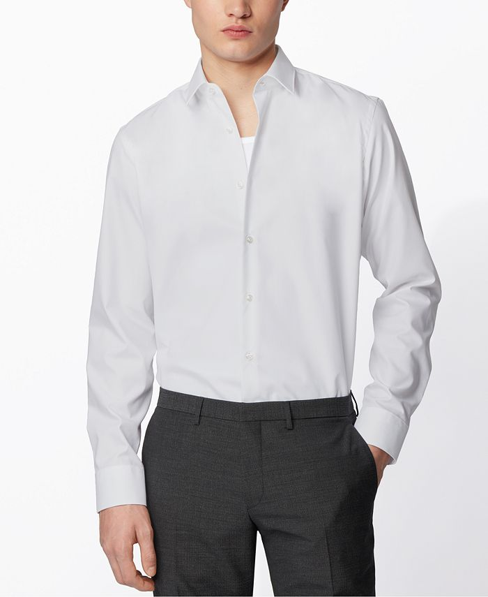 Hugo Boss - Men's Eliott White Shirt