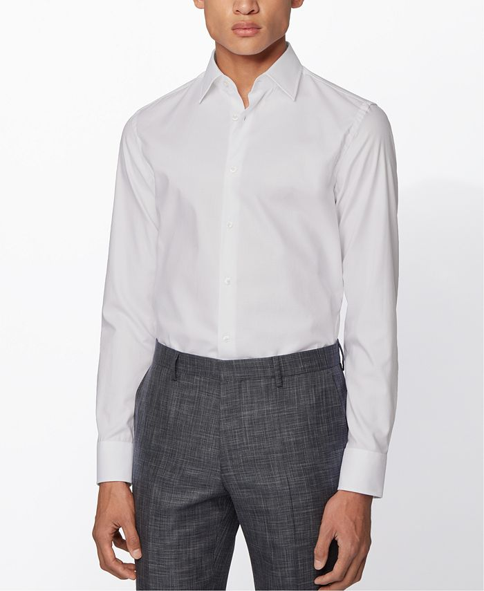 Hugo Boss - Men's Jango White Shirt