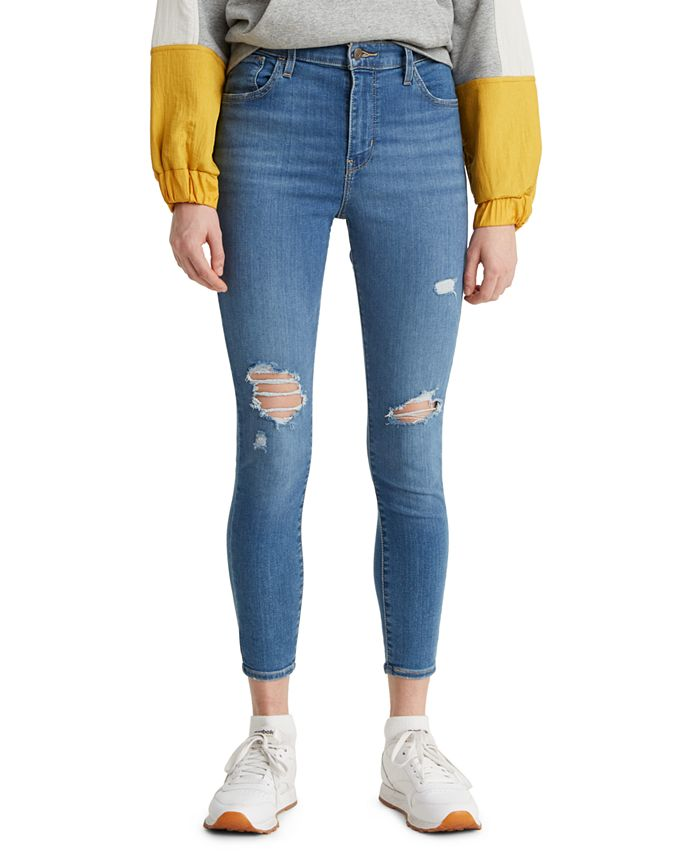 Levi's - 720 Cropped Super-Skinny Jeans