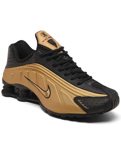 Magazzino crociera regolare  Nike Men's Shox R4 Running Sneakers from Finish Line & Reviews - Finish  Line Athletic Shoes - Men - Macy's
