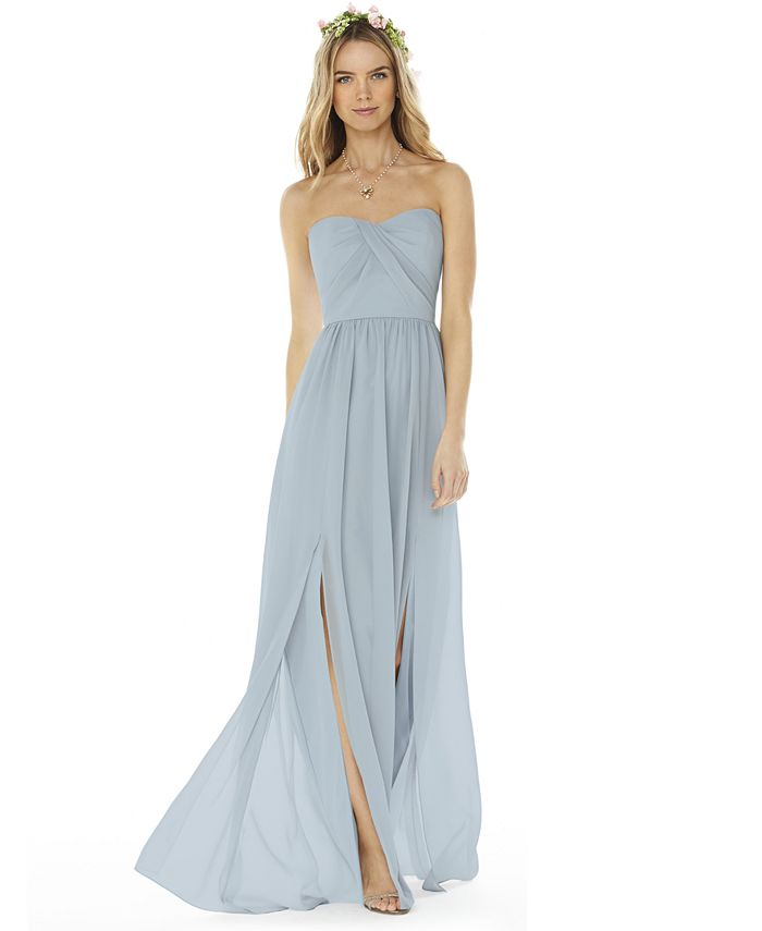 Social Bridesmaids - Strapless Gown