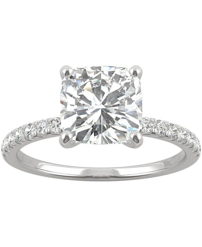 Charles & Colvard - Moissanite Engagement Ring (2-5/8 ct. t.w. DEW) in 14k White Gold