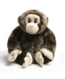 "FAO Schwarz Toy Plush Monkey 10"""