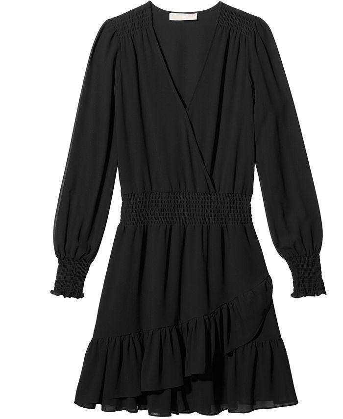 Michael Kors - Ruffled Faux-Wrap Dress