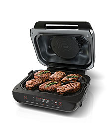 Ninja® Foodi™ Smart XL 6-in-1 Indoor Grill with 4-Qt. Air Fryer, Roast, Bake, Broil, Dehydrate