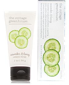 The Cottage Greenhouse Cucumber & Honey Handcreme Travel Size, 2-oz.
